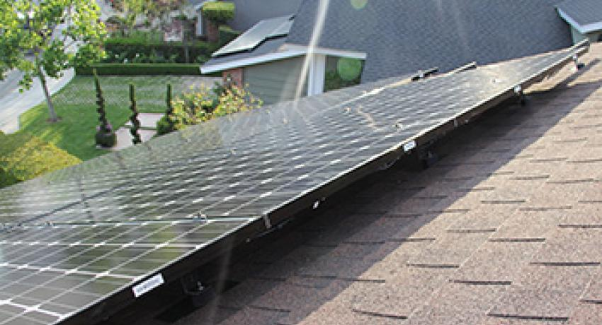 Installing solar on a metal roof
