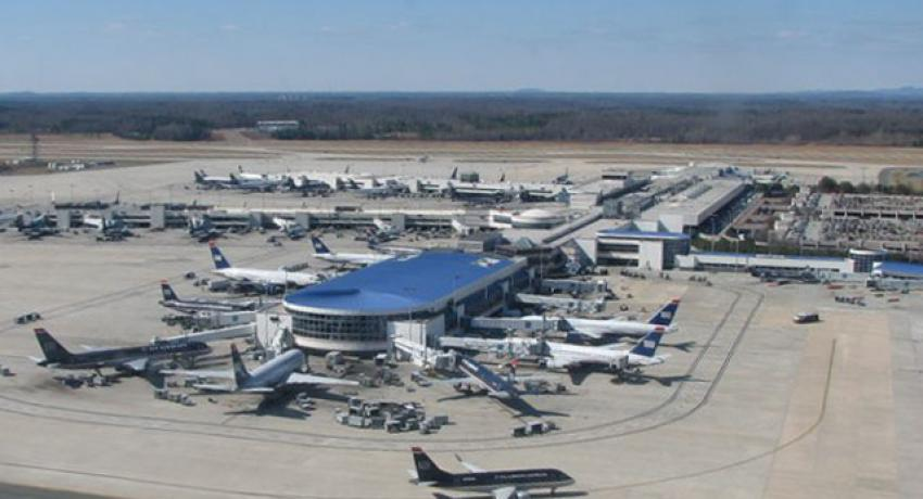 Charlotte airport courts solar