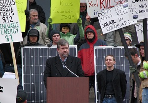 colorado solar protest