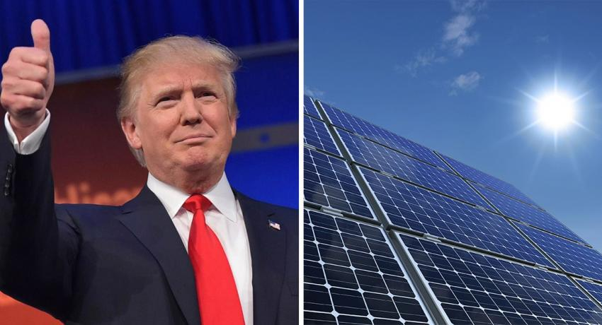 President Trump Does not like solar energy