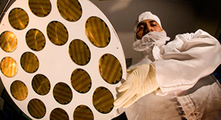 A Spectrolab PV wafer process
