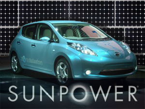SunPower teams up with auto manufacturers to roll out solar