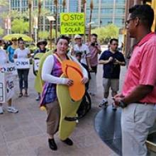 Nevada PUC ignors rooftop solar protesters