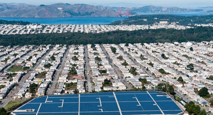 When California legislators vote to increase the state's renewable energy portfolio standard to 50 percent by 2030, will rooftop solar count toward the total?