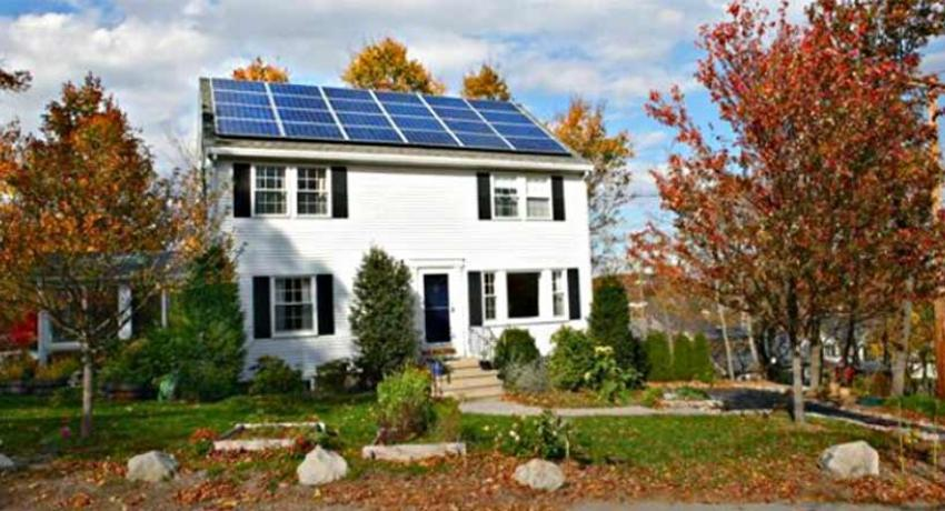 New England Solar Home