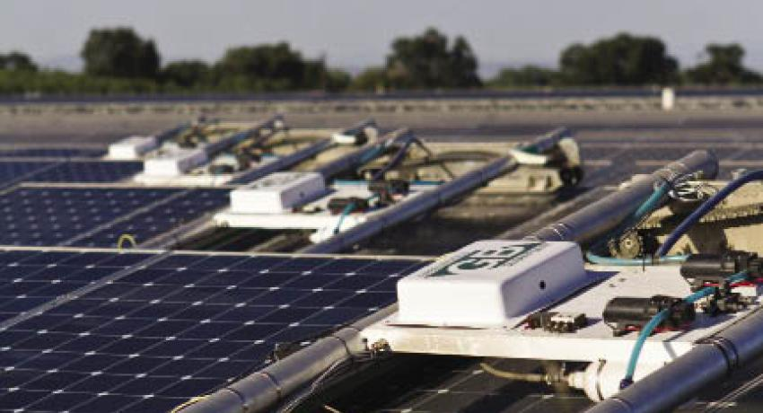 SunPower acquires solar-panel-cleaning robot company
