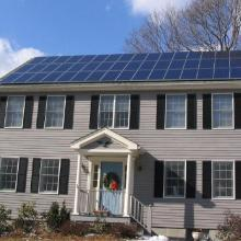 Massachusetts Solar Home