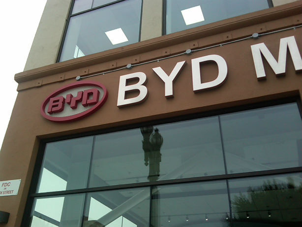 BYD opening manufacturing plants in Lancaster, Calif.