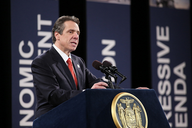 NY Gov. Cuomo during his 2013 State of the State Speech
