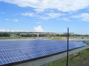A PV farm in Boulder, CO