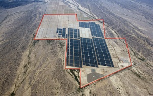Uncompleted Agua Caliente solar farm already winning awards