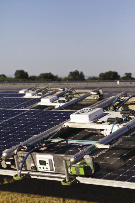 SunPower acquires Greenbotics solar-cleaning robots