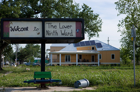lower 9th ward leading solar in new orleans. Black Bedroom Furniture Sets. Home Design Ideas