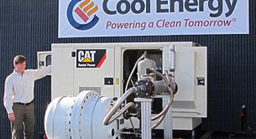 Cool Energy GeoHeart engine