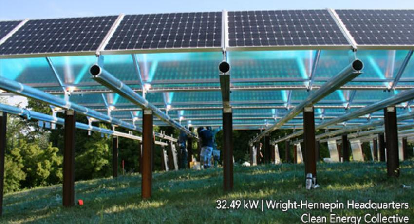 Minnesota S Xcel Energy Community Solar Garden Plans