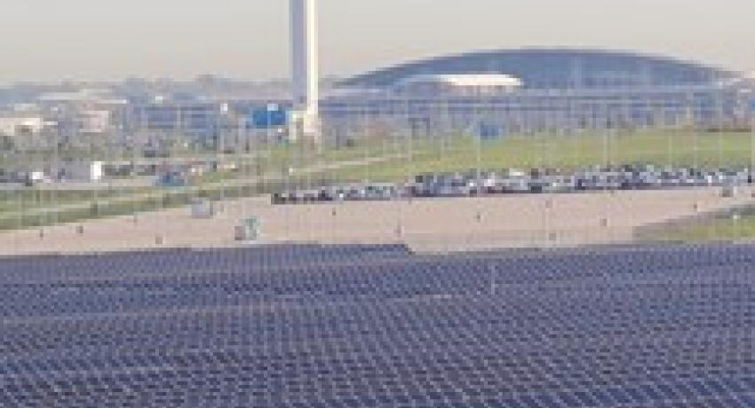 IND solar farm illustrate's state committment to clean energy
